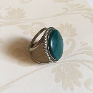 Jewelry - Sterling turquoise ring